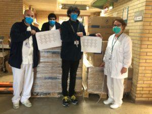 Familia Torres apoya la lucha contra el Covid-19 con material sanitario y tecnología